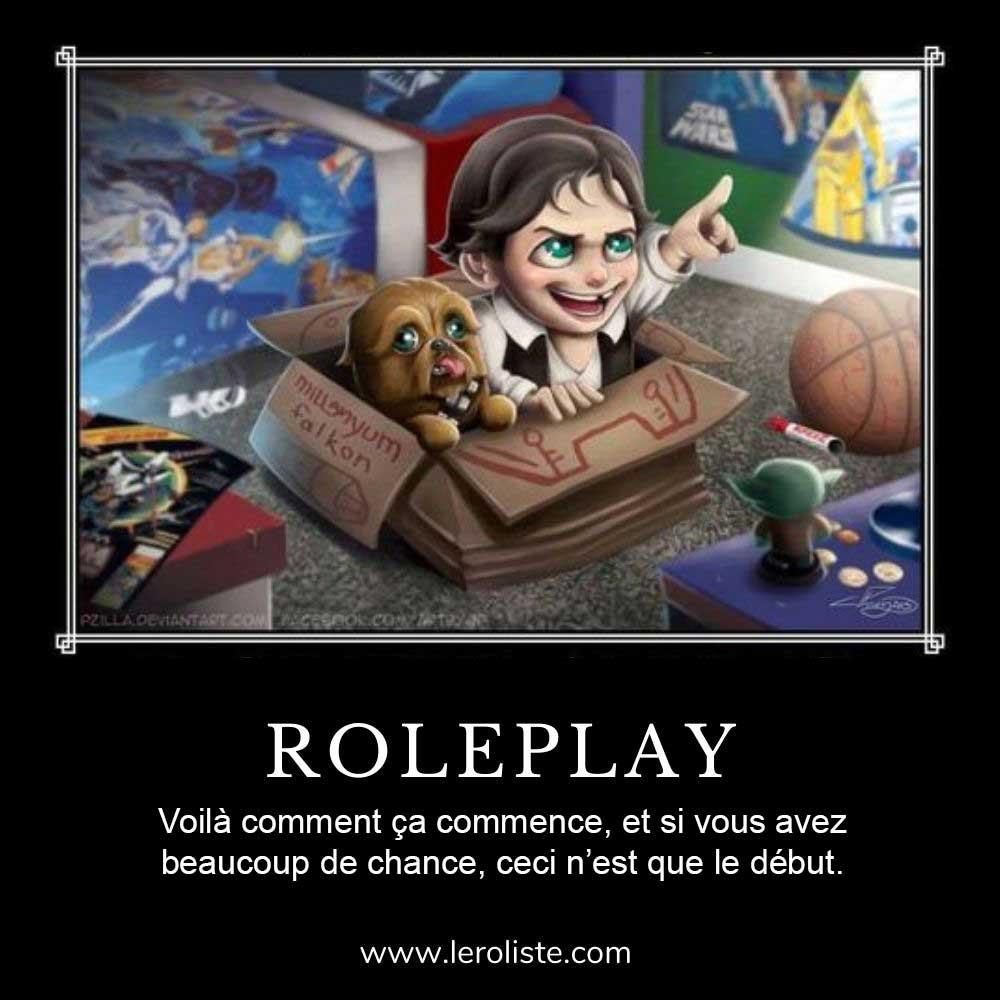 Même jeu de rôle - Roleplay
