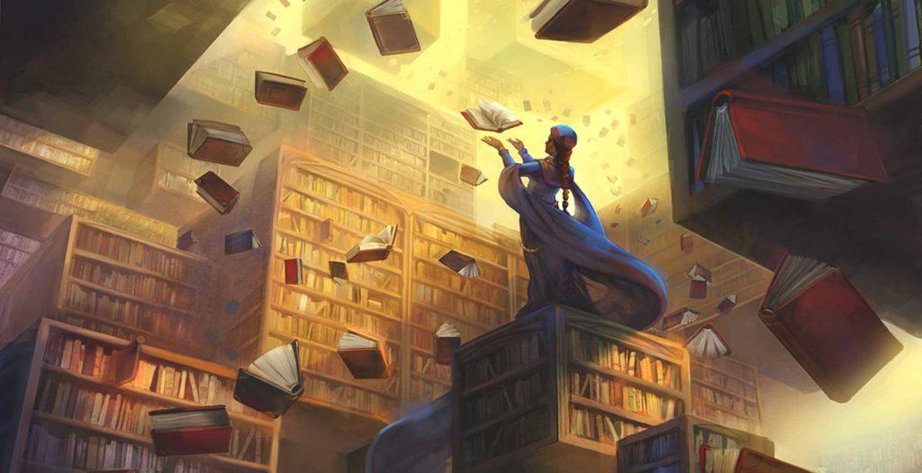 Bibliothèque JDR pour trouver l'inspiration