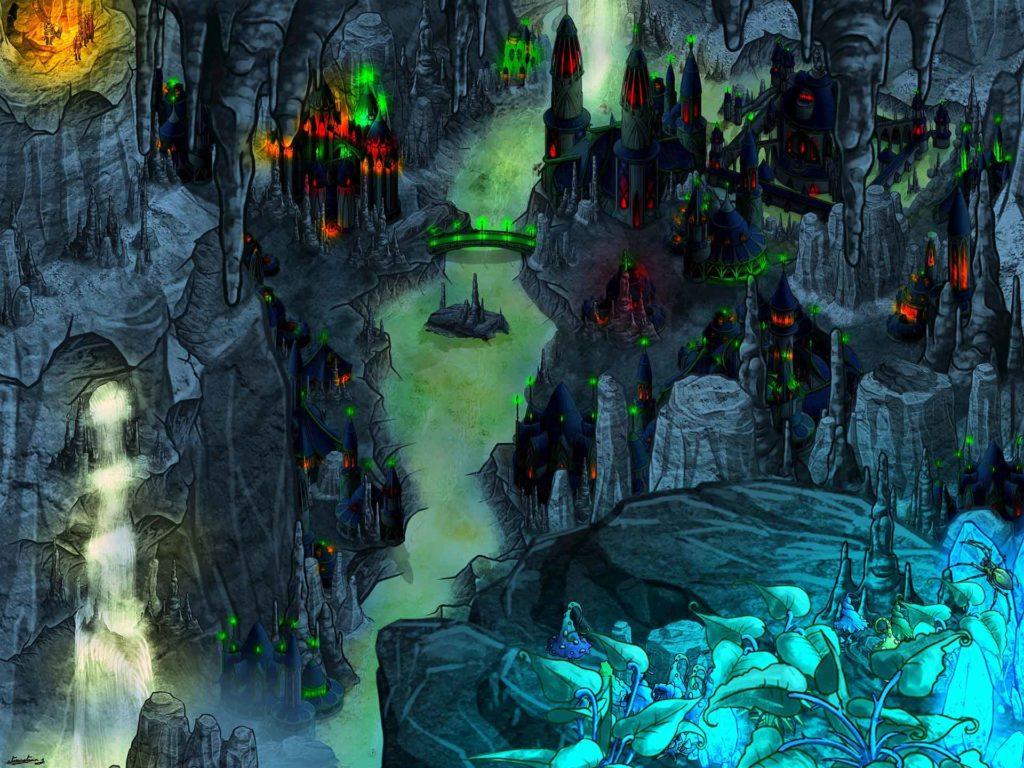 Cartographie souterrain map