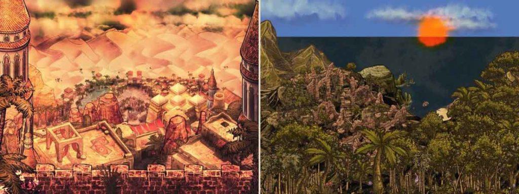 Map jeu de rôle Fantasy map creation